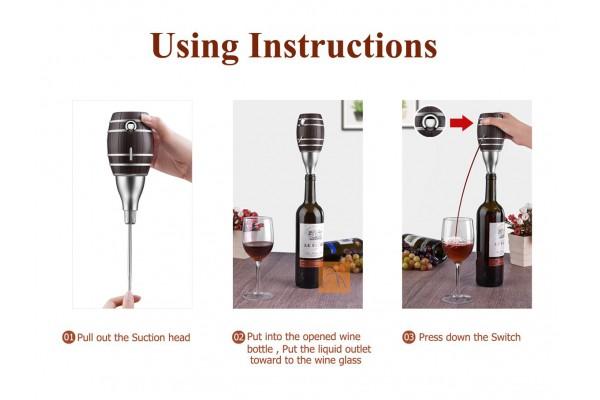 Máy trộn khí và bơm rượu tự động