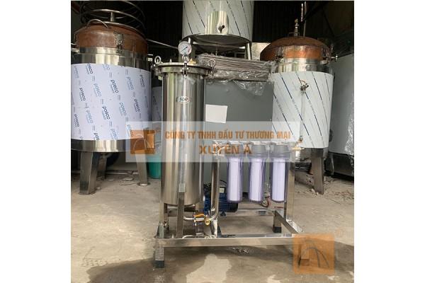 Máy Lọc Nước Mắm Truyền Thống - Loại bỏ bã mắm, bã tương và làm trong màu sản phẩm