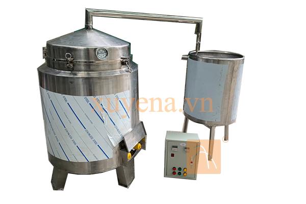 Nồi nấu rượu 50kg/mẻ dung tích 200lit