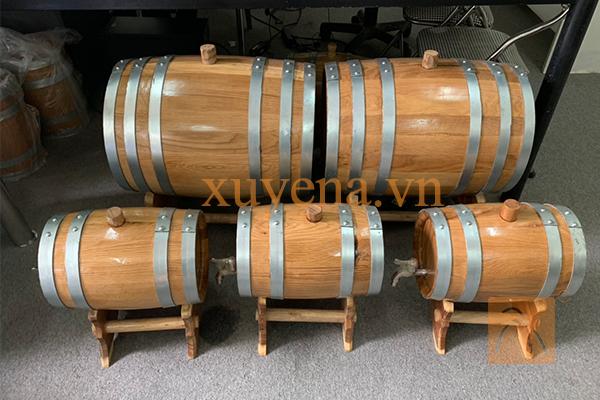 Thùng gỗ sồi 150 lit