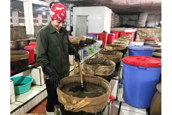 Dây chuyền sản xuất nước mắm truyền thống bán tự động
