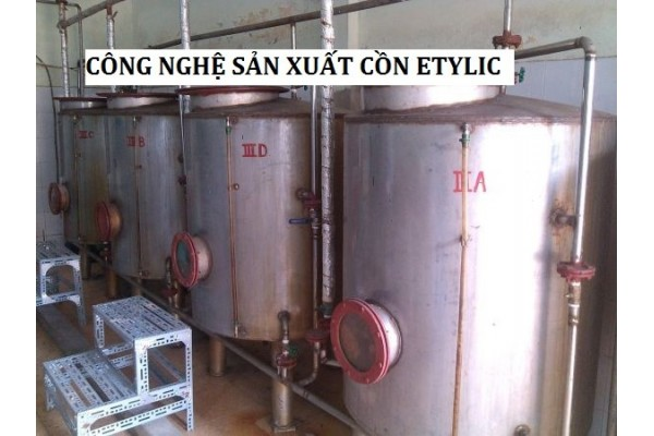 Công nghệ sản xuất rượu cồn etylic từ các loại tinh bột