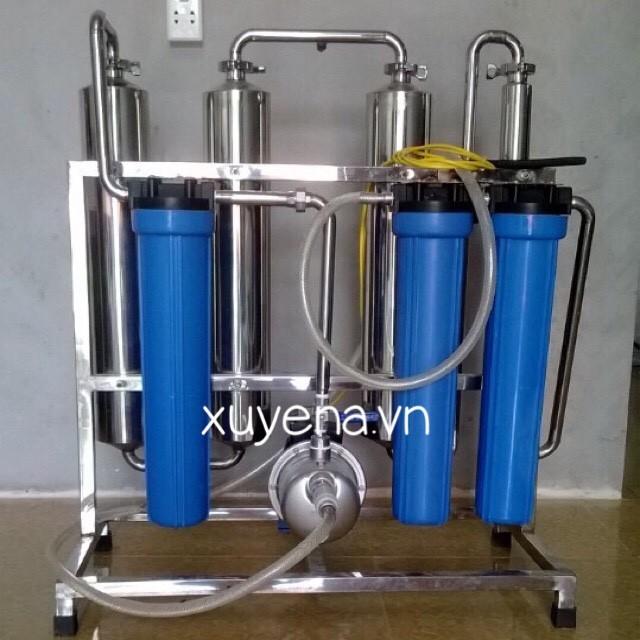 máy lọc rượu công suất 100 lit/h