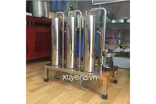 máy lọc rượu công suất lớn 200-300 lit/h