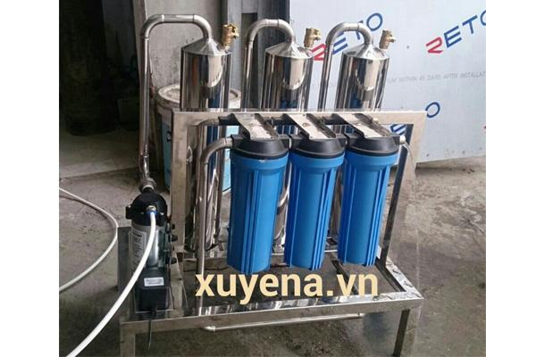 Máy lọc độc rượu gạo công suất 20-30 lit/h